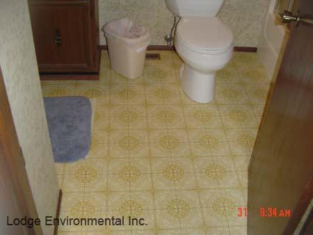 Bathroom Tiles Asbestos bathroom floor