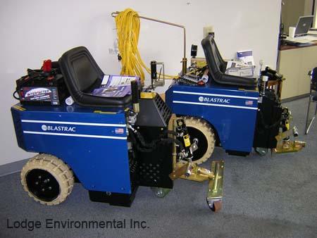 Blastrac Floor Scraper Machine